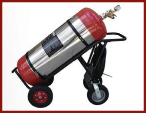 30-Gallon Wheeled Extinguisher